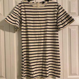 Jcrew Striped dress size S